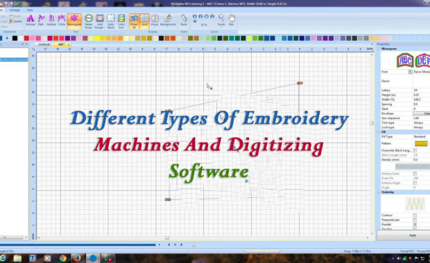 Different Types Of Embroidery Machines And Digitizing Software